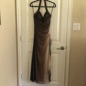 Evening gown (backless)